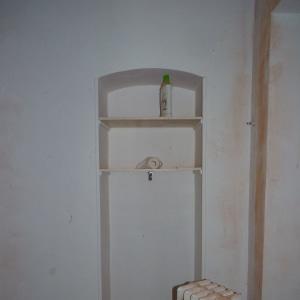 Françoise Lacombe-Bonnet, béton ciré, salle d'eau, minéral