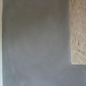Françoise Lacombe-Bonnet, enduit à la chaux, badigeon, rénovation, relooking, pierre blanche, gris, bleu