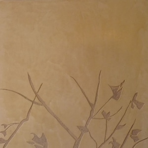 Françoise Lacombe-Bonnet, chaux, décor, sgraffito, stuc